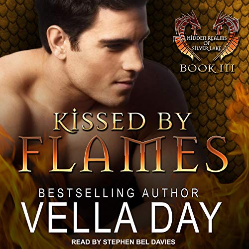 Kissed by Flames audiobook cover art