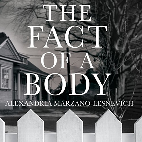The Fact of a Body audiobook cover art