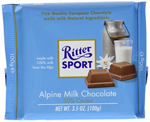 Ritter Sport Alpine Milk Bar 100 Gram