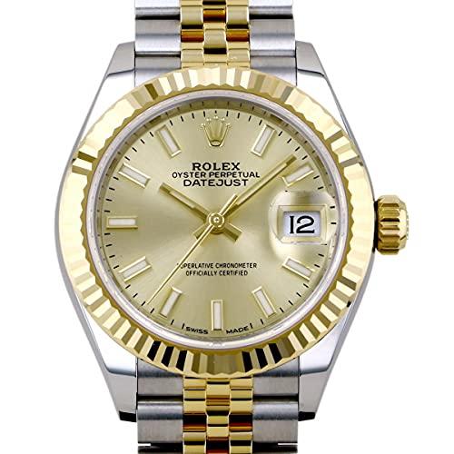 ロレックス ROLEX デイトジャスト 28 279173 シャンパン文字盤 腕時計 レディース (W198512) [並行輸入品]