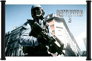 Battlefield 3 Game Fabric Wall Scroll Poster (28