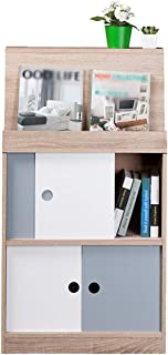 Home Bookshelf Bookcase Shelf Bookshelf Creative Student Bedroom Rack Small Furniture Bookcase Cabinet Display Cabinet Off...