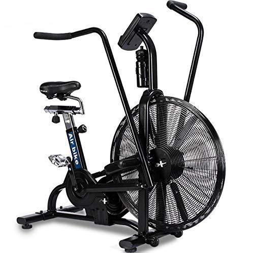 GSTARKL Fitnessgerät, Sportfahrrad, drehbar, dynamisches Fahrrad/Windwiderstand, Air Bike/Multifunktions-Ventilatorauto, Fitnessgerät, Windrad, Spinning Assault Air Bike