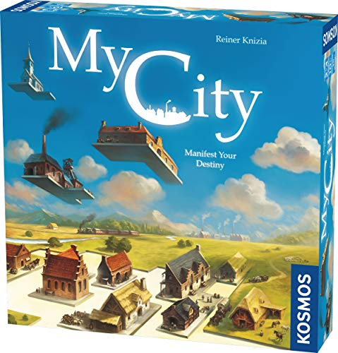 Thames & Kosmos My City | Family – Friendly | Legacy Board Game | Kosmos Games | 2 to 4 Players | Ages 10 and Up | Award Winning Designer Reiner Knizia