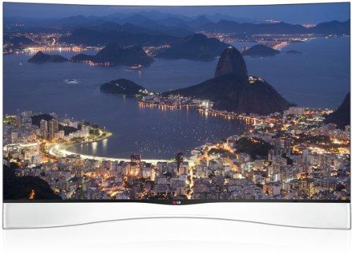 LG 55EA9709 138 cm (55 Zoll) Curved Fernseher (Full HD, Triple Tuner, 3D, Smart TV)