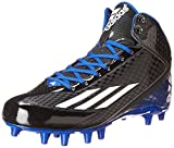 adidas Performance Men's Filthyspeed Mid Fly Football Cleat, Black/White/Royal, 12 M US