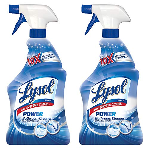 Lysol Bathroom Cleaner Bundle Trigger (Pack of 2)