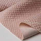 Meterware als Dekostoff- Rosa Wolltuch Tweed Wolltuch DIY