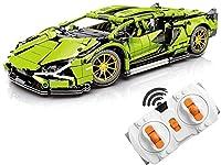 ビルディングブロック車、リモコンスポーツカーモデルレーシングカーキット技術パズルアセンブリと互換性