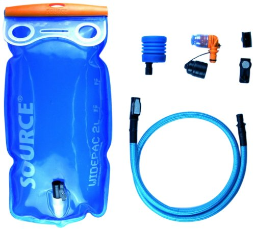 SOURCE Ultimate Hydration System 2 L Transparent-Blue 2017 Rucksack