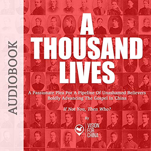 A Thousand Lives audiobook cover art