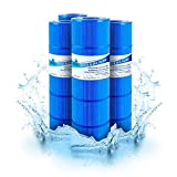 Premium Antimicrobial Replacement Swimming Pool Spa Filter Cartridge For Hayward CX880XRE, PA106-PAK4, PA106-4, XLS-722, Unicel C-7488, FC-1226, FC-6430, SwimClear C4025, C4030, 4x106 sq. ft. 4-PACK
