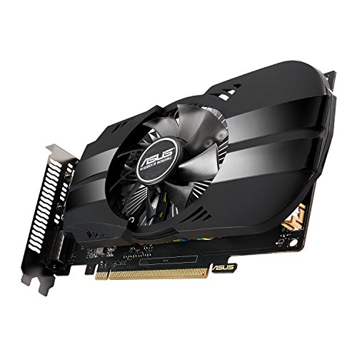 Asus PH-GTX1050TI-4G Nvidia GeForce Grafikkarte (PCIe 3.0, 4GB DDR5 Speicher, HDMI, DVI, DisplayPort)