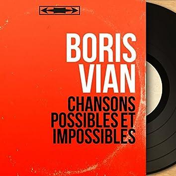 Chansons possibles et impossibles (Mono Version)