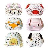 Lazzon Baby Trainerhosen Unterhosen Baumwolle Töpfchentraining Unterwäsche für Baby 1 bis 3 Jahre...
