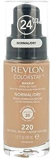 Revlon ColorStay Makeup Foundation for Normal/Dry Skin - 220 Natural Beige, 1.0oz/30ml