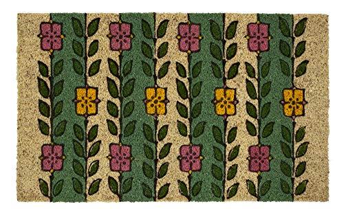 Entryways Victoria and Albert Museum Espalier - Felpudo de fibra de coco natural, 45 x 75 cm