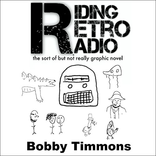 Riding Retro Radio audiobook cover art