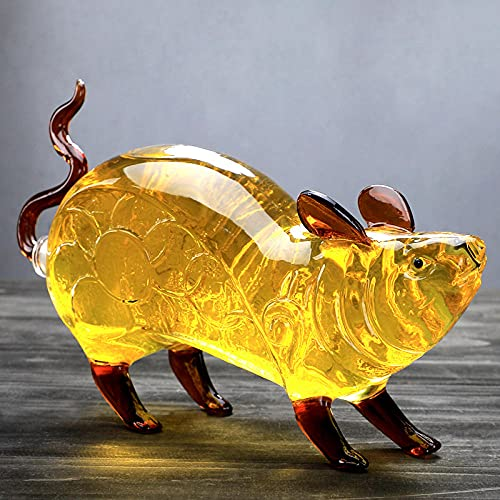 Forma de caballo multifuncional botella de vino-muebles para el hogar-bar mobiliarios-Whisky Decanter-Mouse