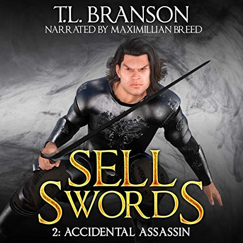 Sellswords: Accidental Assassin audiobook cover art