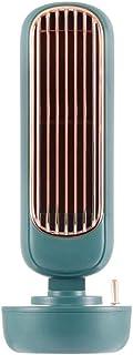 cheaakk Aire Acondicionado Port¨¢Til Nueva Torre de humidificación Retro pequeño Ventilador multifunción Mini Enfriador de Aire Escritorio de Oficina hogar
