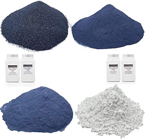 Tonmp 6 Pounds Rock Tumbler Refill Grit Media Kit (4 Polishing Grits)| 4-Steps for Tumbling Stones