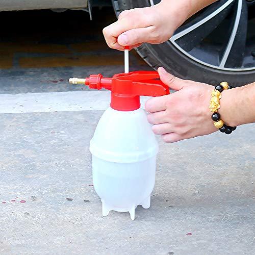AXWT 800 ml Pump-Action-Drucksprüher - Bremsenreiniger Sprühflasche Pump Action Heavy Duty 0.8L Solvent Drucksprüher, Epidemie Desinfektion Topf Gießkanne