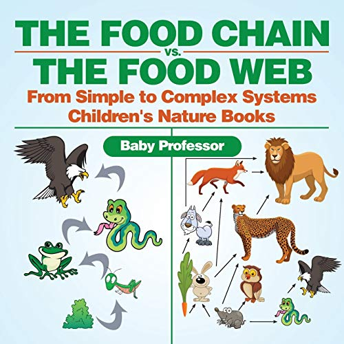 The Food Chain vs. The Food Web - From Simple to Complex Systems   Children's Nature Books