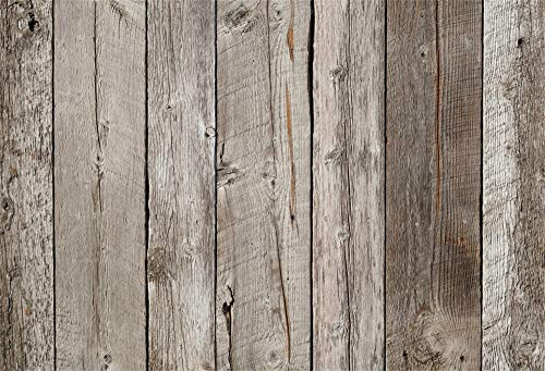 Cassisy 3x2m Vinyl Foto achtergrond Houten achtergrond Shabby Chic Retro Oud Bruin houten planken Fotografie achtergronden voor Fotoshoot Fotostudio Props Partij Kinderen Pasgeboren Fotocabine