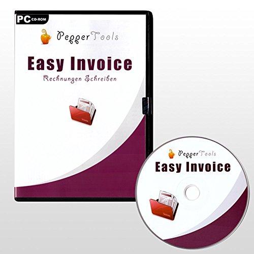 Rechnungsvorlagen in Rechnungsprogramm über Briefpapier Designer (PC)