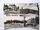AK Brotterode/Kleiner Inselberg, Mehrbildkarte, 4 Abb., Ferienheim, Blick vom Rennsteig, Parkplatz, Ferienheim ' Haus am Reitstein ', Echt Foto, Ungelaufen.