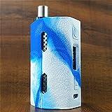 ModShield for Kangertech Cupti 2 80W & 100W Silicone Case ByJojo Kanger Cupti-2 Skin Cover Sleeve Shield Wrap (Blue/White)