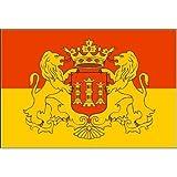 Fahne Flagge Stadt LINGEN Grösse 1,50x0,90m - FRIP –Versand®