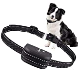 Queenmew Dog Bark Collar, Anti Bark Device Dog Training Collars Rechargeable & Waterproof Control Barking Harmless Citronella Spray Anti-Bark Deterrent Stopper of Dogs
