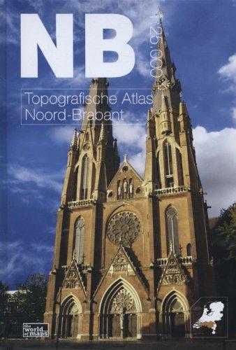 Topografische atlas van Noord-Brabant: schaal 1:25.000