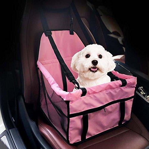 Easylifer auto hundetasche/hund auto tasche/auto hundetasche/ auto hundebox/ hund auto transport/ hund auto schutz/ hund auto transport rücksitz(pink)