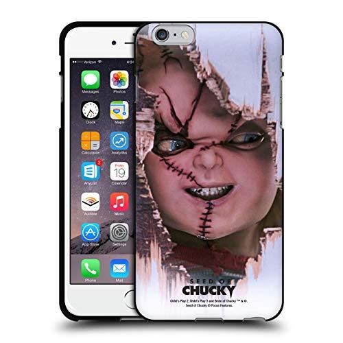 Head Case Designs Ufficiale Seed of Chucky Scarface Arte Chiave Cover Nera in Morbido Gel Compatibile con Apple iPhone 6 Plus/iPhone 6s Plus
