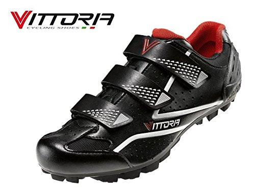 Vittoria Zapatos Bicicleta MTB Peak Negras