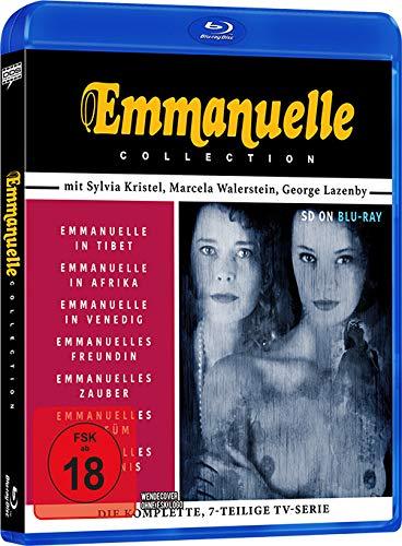 Emmanuelle Collection (7 Filme: Emmanuelle in Tibet , ...in Afrika, ...in Venedig, Emmanuelles Freundin, ...Zauber, ...Parfüm, ...Geheimnis) [Blu-ray]