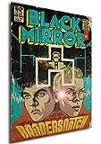 Instabuy Poster - Black Mirror Vintage 24 - Bandersnatch A3 42x30