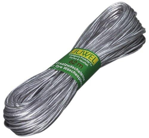 Juwel Wäscheleine TWARON (besonders belastbar, dehnfrei, umhüllt mit einem Polyestergeflecht, 62 m) 30024