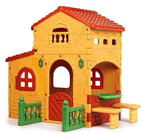Feber 800008590 Grande Villa Playhouse, Multicoloured, 206 x 154 x 180...