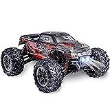 Mopoq RC Car 4WD 2,4 GHz de alta velocidad camiones fuera de carretera de competición del control remoto de vehículos de juguete con baterías recargables for Niños Adolescentes Adultos, Regalo de cump