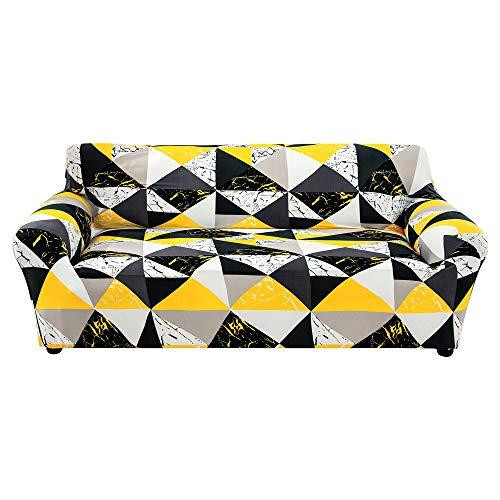 Shujin Funda de sofá elástica para sofá de 3 plazas (195 – 230 cm)