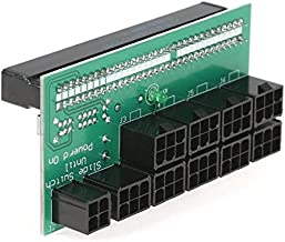 Mining PSU Breakout Board Adapter, 12V GPU/PSU Power Adapter Board with 10 port Pci-E 6pin output for 750W / 1200W Server Power Supply Ethereum ETH ZEC Miner Machine