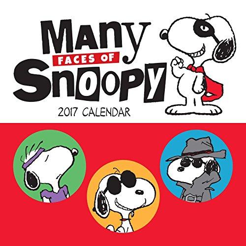Peanuts 2017 Mini Wall Calendar: Many Faces of Snoopy
