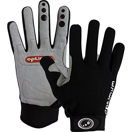 Optimum Kinderen Fietsen Hawkley MTB/BMX Handschoenen, Zwart