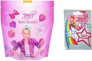 JoJo Siwa 2 Bath Fizzers & Mystery Necklace Blind Bag Set