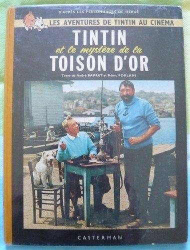 Tintin et le mystere de la toison d'or