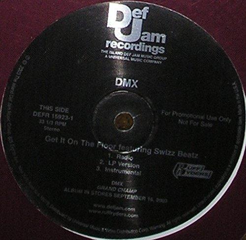 DMX - Get It On The Floor - Def Jam Recordings